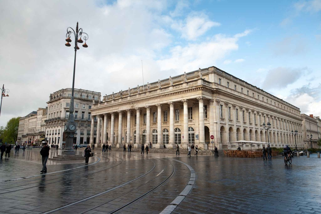 Le Grand Theatre de Bordeaux, Opera national de Bordeaux. - Photo : Sebastien Ortola